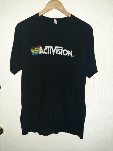 Activision Men's Size Large Black Shirt