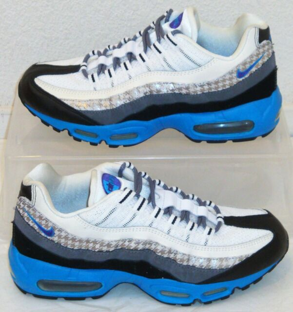 New Nike Air Max 95 Houndstooth Purple Blue Mens US Size 8 UK 7 EUR 41