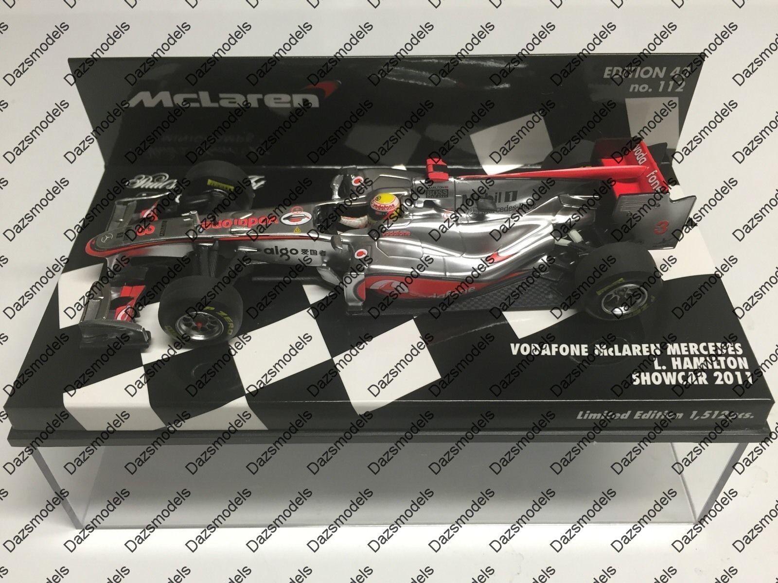 Minichamps F1 Vodaphone Mclaren Mercedes Showcar 2011 L. Hamilton