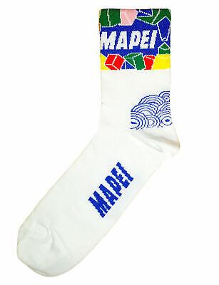 Brand new Team Mapei Colnago cycling socks Italian made Retro C40 C50 Master