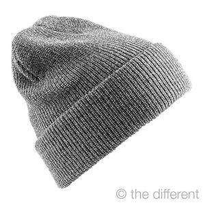 BERRETTO-CAPPELLO-UNISEX-INVERNALE-COLORE-034-GRIGIO-034-CLASSIC-NEVE-SNOWBOARD-CAP