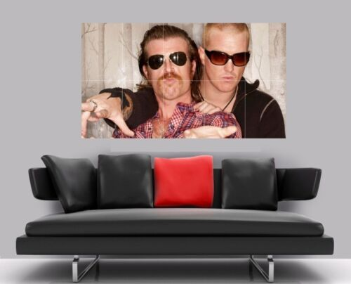 "EAGLES OF DEATH METAL BORDERLESS MOSAIC TILE WALL POSTER 41/"" x 24/"""