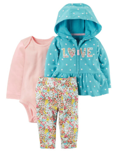 New-born Baby Infant Boys Girl Romper Hooded Jumpsuit Bodysuit Clothes Set