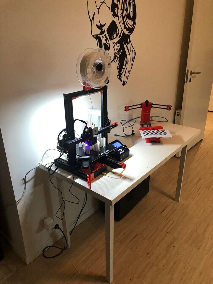 3D Printer, Creality, Ender 3