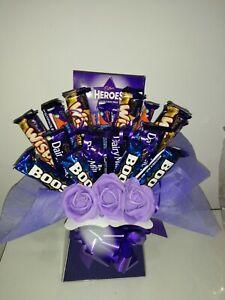 Cadburys Cioccolato al latte SUPER SPECIALE Bouquet cesto regalo per ogni occasione