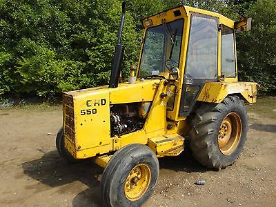 Commercial Vehicle Parts Agriculture/farming Ford 550 555 Digger Backhoe Workshop & Parts Manual