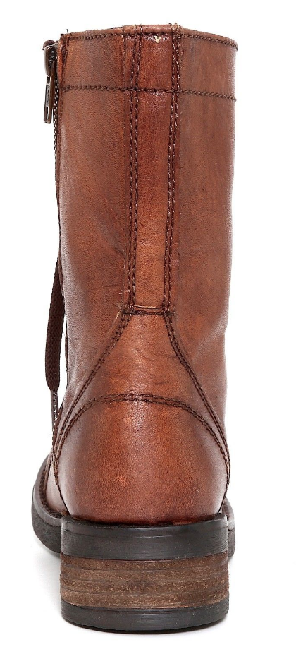 Zigi Soho Soho Soho Olie Womens Brown Leather Mid Calf Boot Sz 7 3409  0e5a67