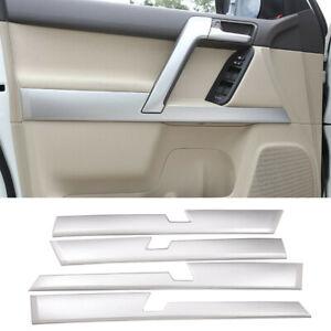 Inner-door-panel-trim-Strips-Cover-Fit-For-Toyota-Land-Cruiser-Prado-10-19-4pcs