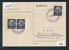 05385) DR Ostgebiete Not-Stempel Oberschlesien 2 versch. Skotschau..