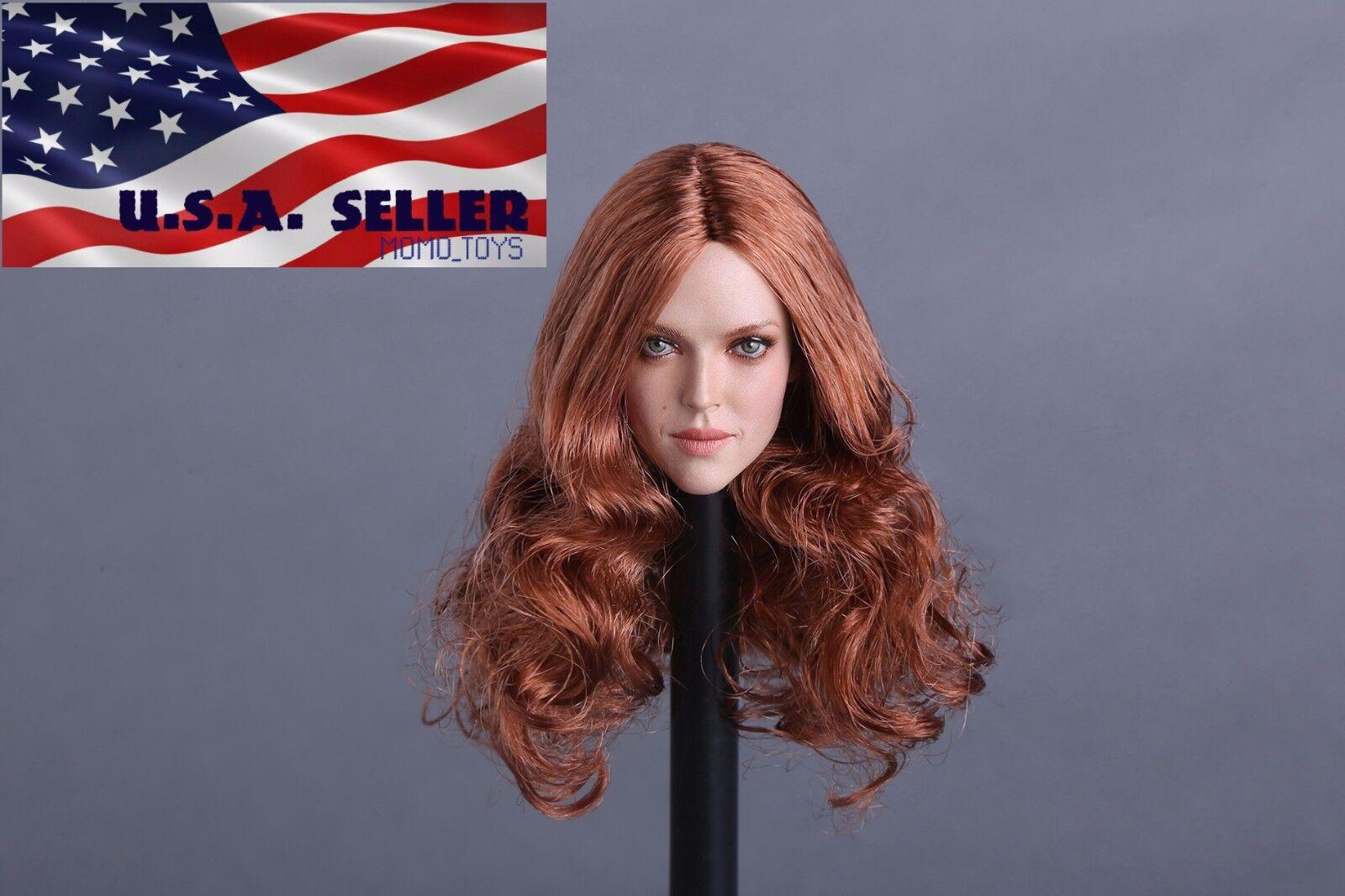 1 6 American Female Female Female Head Sculpt A For 12  Phicen Hot Toys Female Figure ❶USA❶ 7ecf26