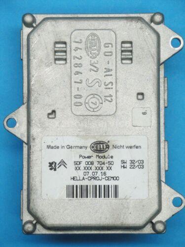 Xenon Kurvenlicht AFS Modul Leistungsmodul Steuergerät Peugeot 5DF008704-50 NEU