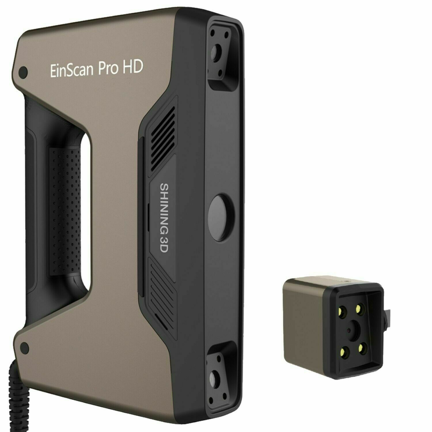 Shining3D EinScan Pro HD Handheld 3D Scanner + Color Pack HD With Solid Edge CAD