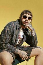 H910 Post Malone American Rapper New Hot Hip Hop Music Singer Star Poster Art