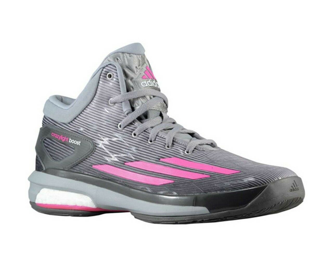 Adidas Crazylight Boost Light Onix rose Granite Gris basketball C75902