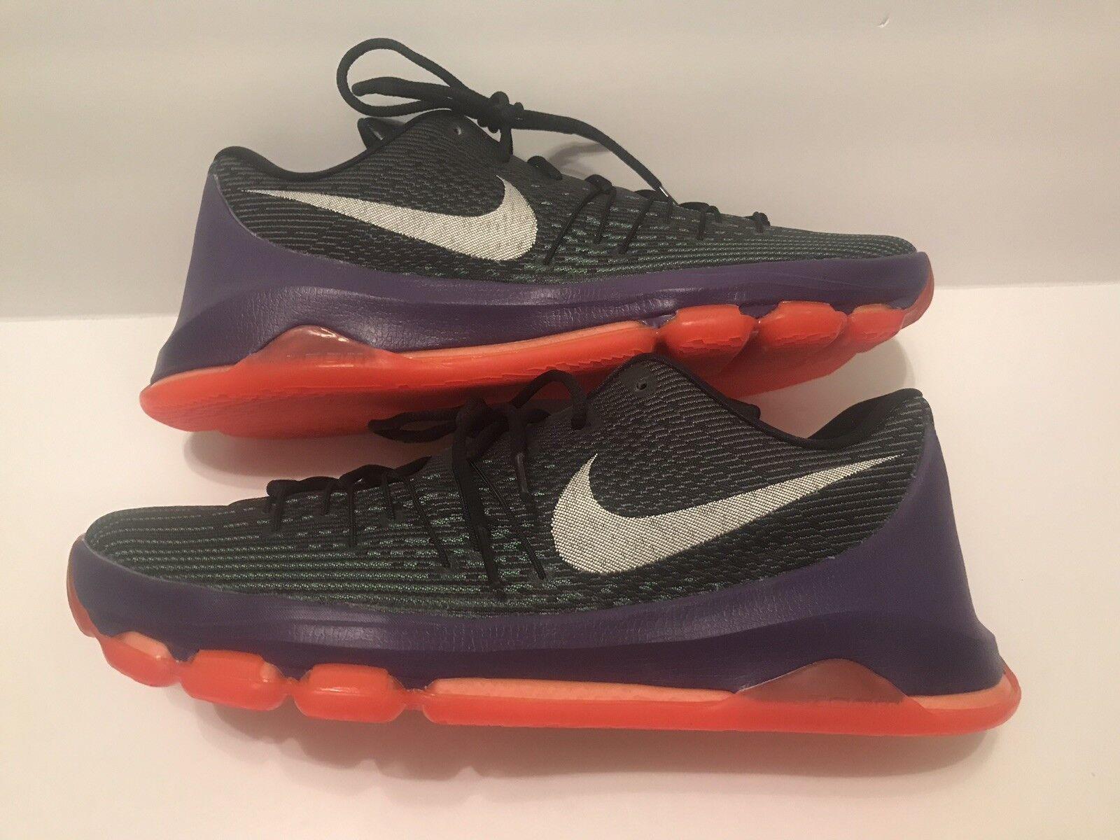 separation shoes 5be3b d245e NEW Nike Zoom KD KD KD 8 Vinary Black Green Basketball shoes Size 10.5  749375-