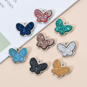 10pcs Mixed Color  Ice Cream Enamel Charms Pendants For DIY Bracelets Necklace