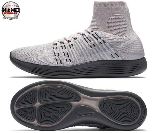 a582196a1b6a NikeLab Lunarepic Flyknit 831112 600 Pearl Pink Women s Running Shoes Sz 8.5