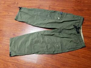 Old Navy Para Hombre Xl Green Cargo Utilidad Bolsillo Pantalones De Algodon Nailon Trek Ebay
