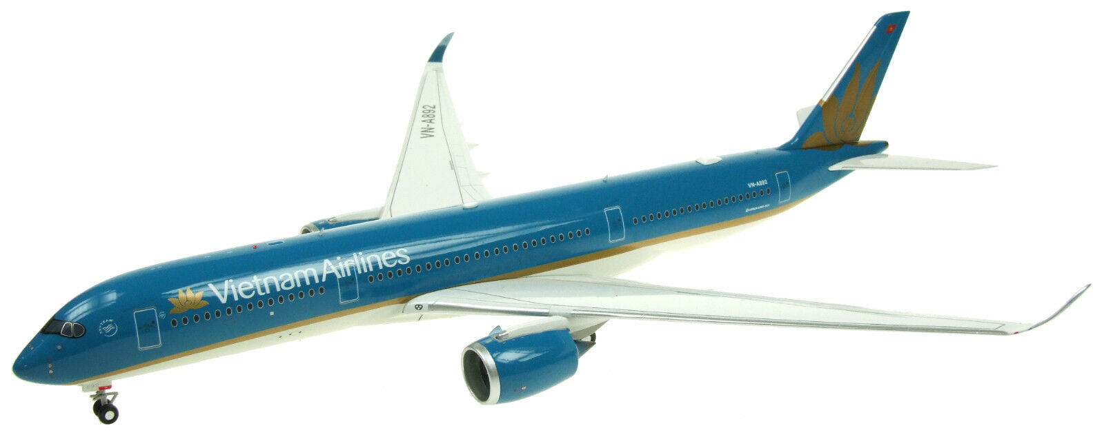Weiß BOX MODELS WB350VN01 1 200 VIETNAM AIRLINES A350-900 F-WZNP WITH STAND