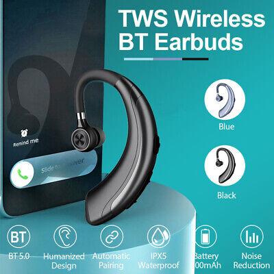 Bluetooth Headset Handsfree Wireless Earpiece Waterproof Earphone Stereo Earbuds Ebay