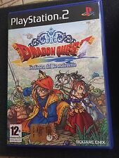 "Gioco Dragon Quest ""L'odissea Del Re Maledetto"" Ps2 Pal Ita Completo Come Nuovo"