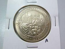 A: Malaysia 1 Ringgit coin (1986) Commemorative RMK-5  - Lustre BU
