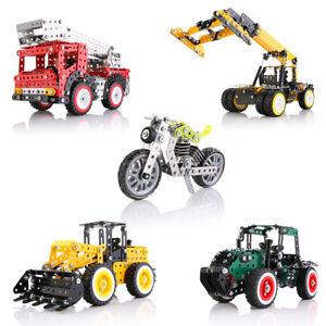 3cb5981f5 Image is loading CHILDREN-DIY-CREATIVE-BRICKS-METAL-BUILDING-BLOCKS- EDUCATIONAL-