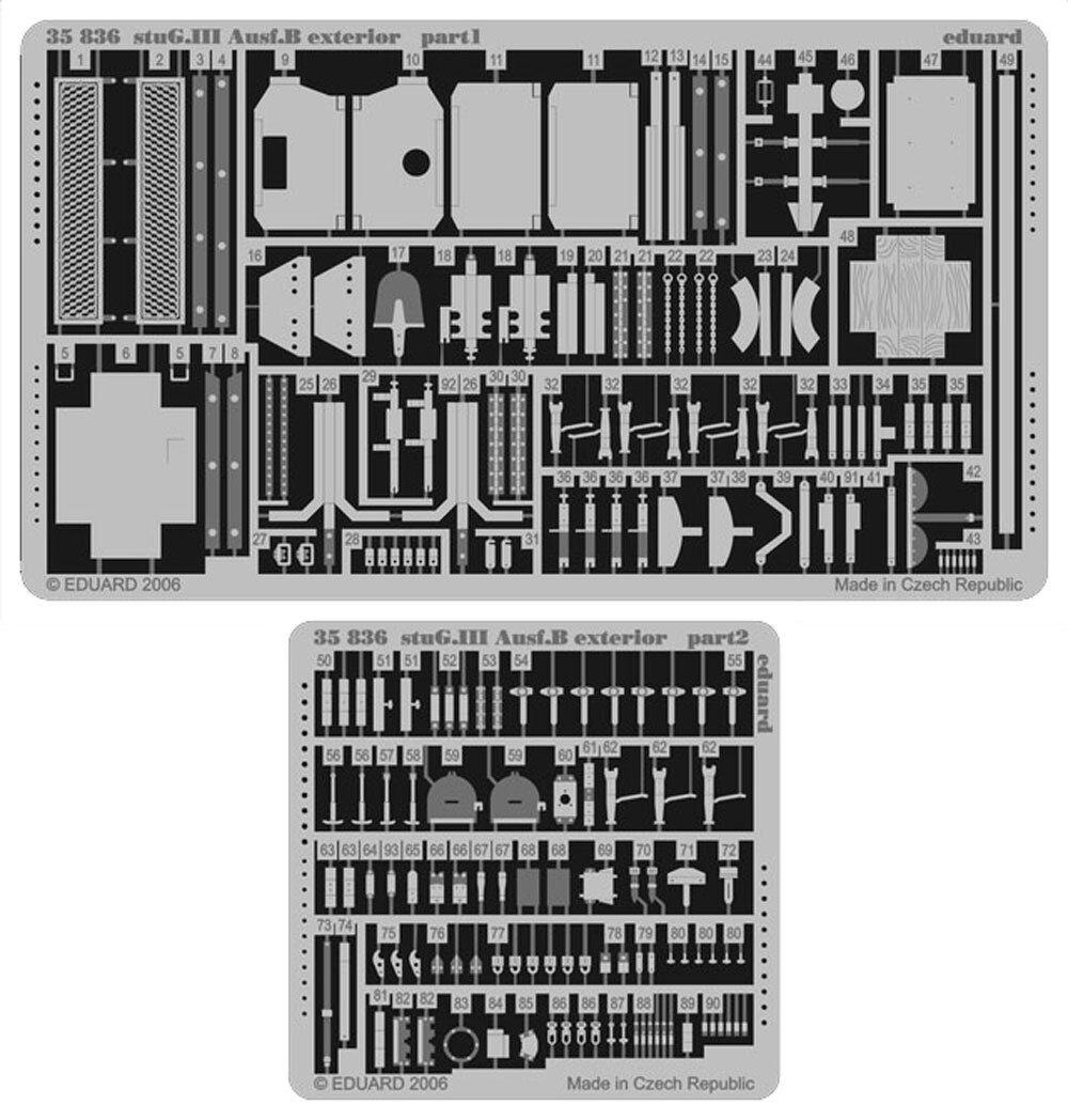 Eduard Edua35836 Stug.Iii Ausf.B Exterior 1//35