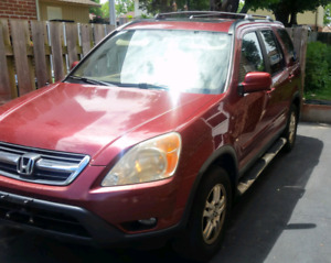 2004 Honda CRV Ex-l for sale 1500 price is negotiable