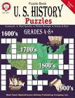 U. S. History Puzzles, Grades 4-8+ (2000, Paperback)