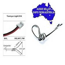 Yeah 5mm WHITE LEDS + wiring  for TAMIYA LED LIGHT UNIT TLU-01,TLU-02 1:10 RC