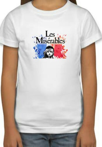 Les Misérables Movie Art Poster Holiday Kids Unisex Birthday Gift T-Shirt 145