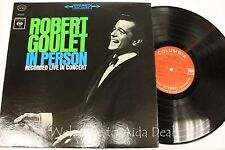 """Robert Goulet In Person Recorded Live In Concert LP 12"""" (VG)"""