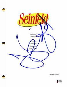 JERRY-SEINFELD-SIGNED-AUTOGRAPH-THE-CONTEST-EPISODE-SCRIPT-LARRY-DAVID-BECKETT