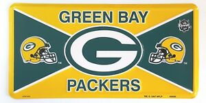 Green-Bay-Packers-Metal-License-Plate-NFL-Football-Team-Officially-Licensed