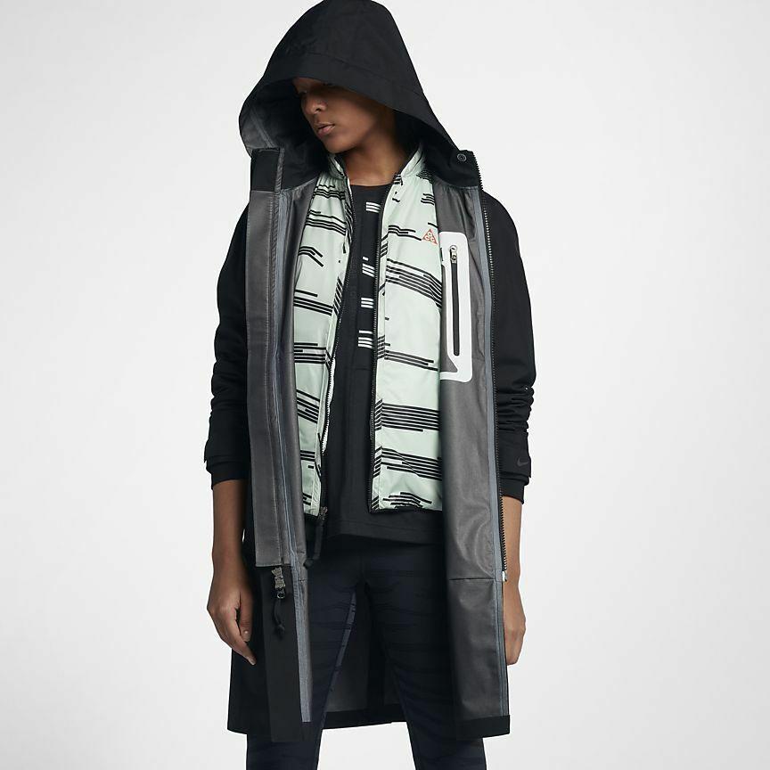 Nike Womens Sportswear Down Fill Parka Jacket BlackSail
