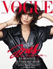 VOGUE Paris December 2014 Ines de la Fressange,Mert & Marcus COVER 1 NEW