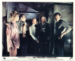 Details About The Poseidon Adventure Original Lobby Card Gene Hackman Stella Stevens Cast