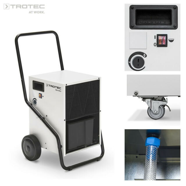 Trotec TTK 170 S Commercial Dehumidifier Dryer up to 50 Litres   eBay 9980ccf153