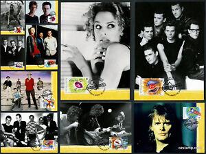 2001-Rock-and-Pop-Music-Maxi-Cards-Prepaid-Postcard-Maxicards-Australia