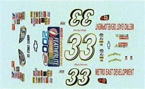 Details about Winscals #33 Featherlite Coaches 200 2007-K Harvick Nascar  decal