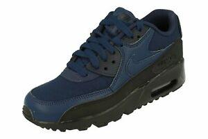 lavanda fibra sitio  Boys Nike Air Max 90 ES BG Trainers Shoes Navy/Blue AV4152 400 UK 4_5.5 |  eBay