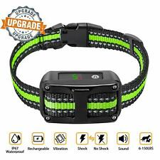 Cooligg EF052FE Anti Barking Rechargeable Dog Shock Training Collar