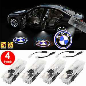 4PCS BMW Logo LED Step Door Courtesy Welcome Light Ghost Shadow Laser Projector