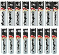 30 Pc Combo Pack Energizer Max Alkaline -10 Aa & 20 Aaa Batteries Bulk Exp 2025