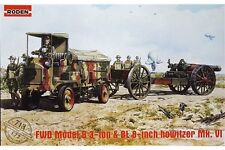 RODEN 713 1/72 FWD Model B 3 ton & BL 8-inch howitzer Mk.VI