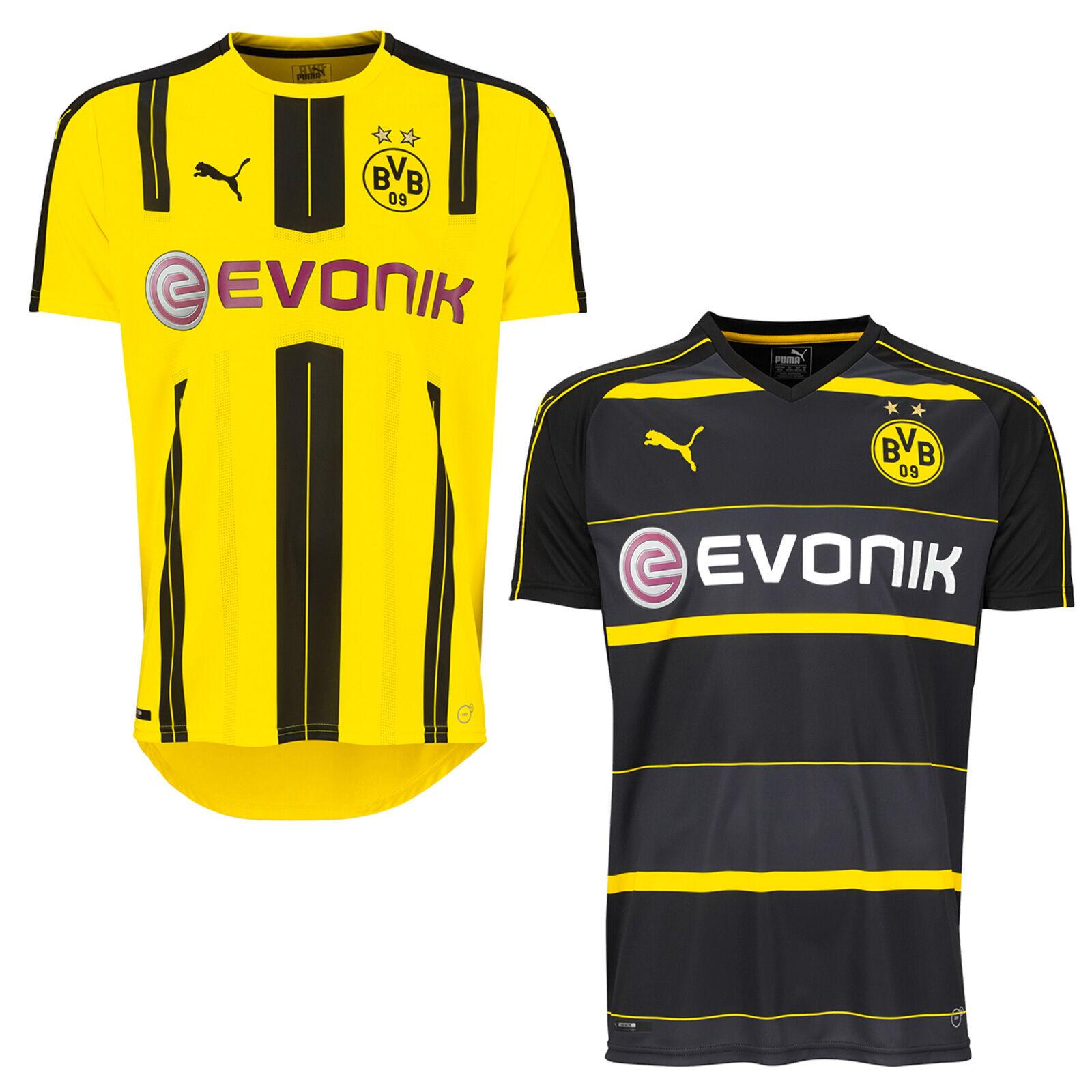 PUMA BVB Home | Away Replica Shirt Borussia Dortmund Heim-Trikot Jersey Fussball