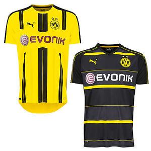 Puma-Bvb-Home-Away-Replique-Haut-Borussia-Dortmund-Maillot-pour-Domicile-Jersey