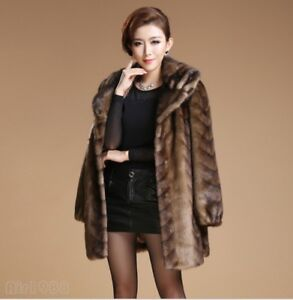 Outwear Parka Kvinders Lady Jacket Casual Warm Fur Dress Coat Fashion Trench nB8wpTqBY