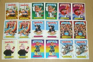 2016 Topps Garbage Pail Kids GPK no-Cicatrices Oscars 18-juego completo de tarjeta